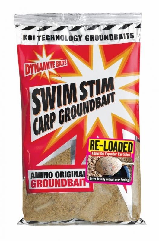 Dynamite Baits Swim Stim Groundbait- Betaine Krill Amino Amino Black