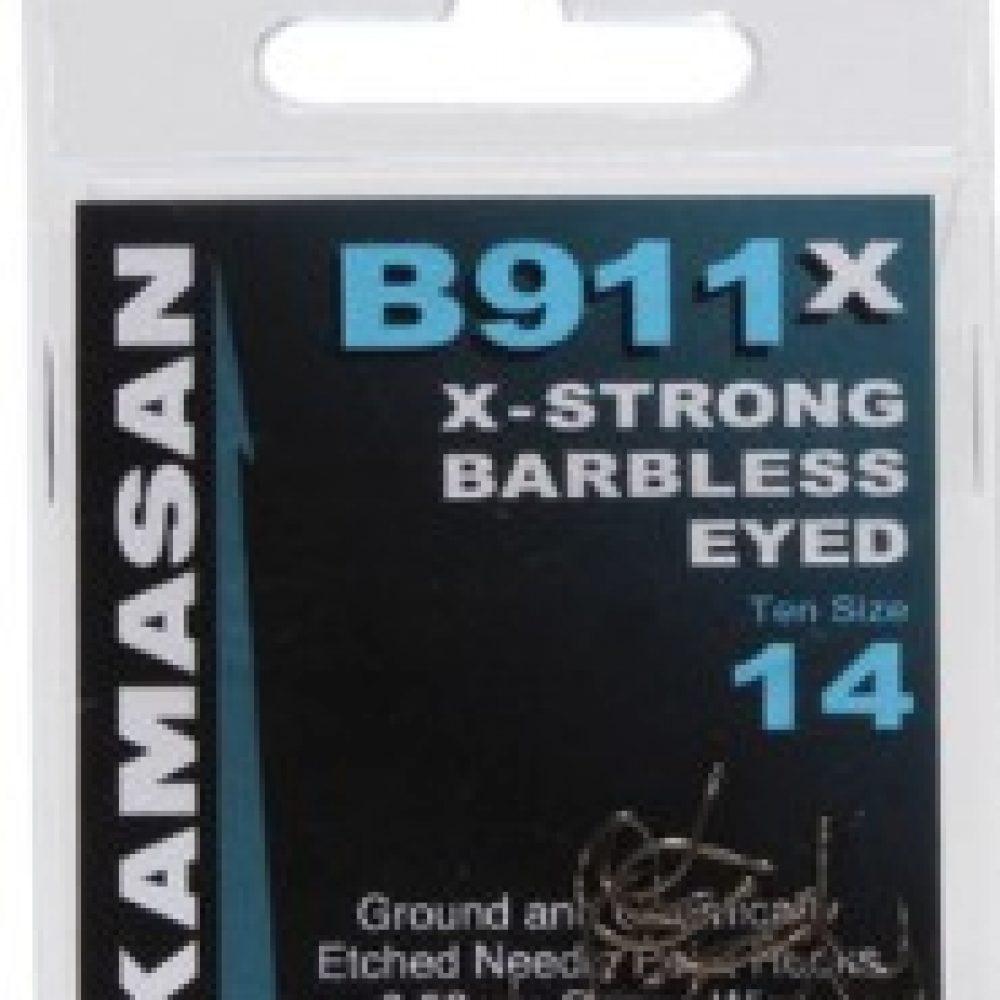 16 2 x Kamasan B520 Hook to Nylon  sizes 14 20 /& 22 18