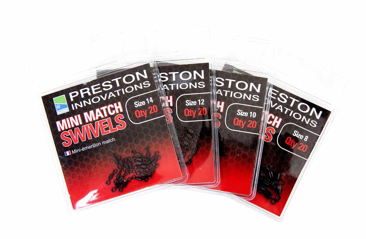 Preston Link Swivvels Size 10