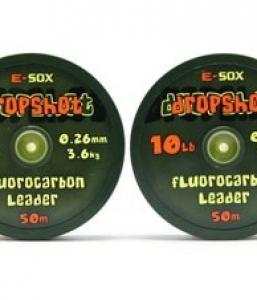 Drennan E-Sox DropShot Fluorocarbon Leader 50m Spool